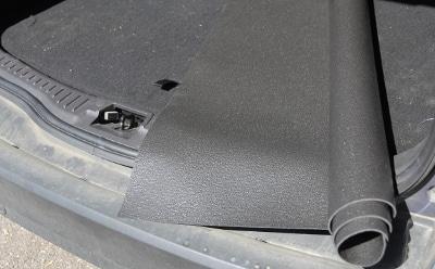 zuschneidbare Kofferraummatte