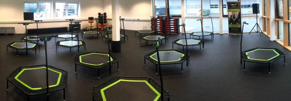 Fitnessstudio Bodenbelag