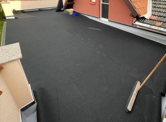 Dachsanierung mit Bautenschutzmatten